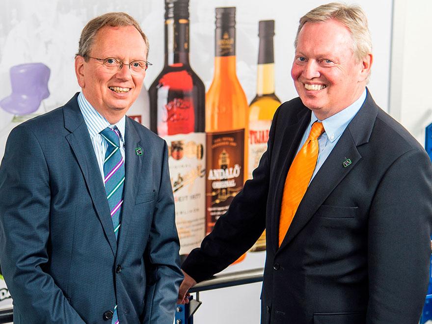 Rüdiger und Waldemar Behn